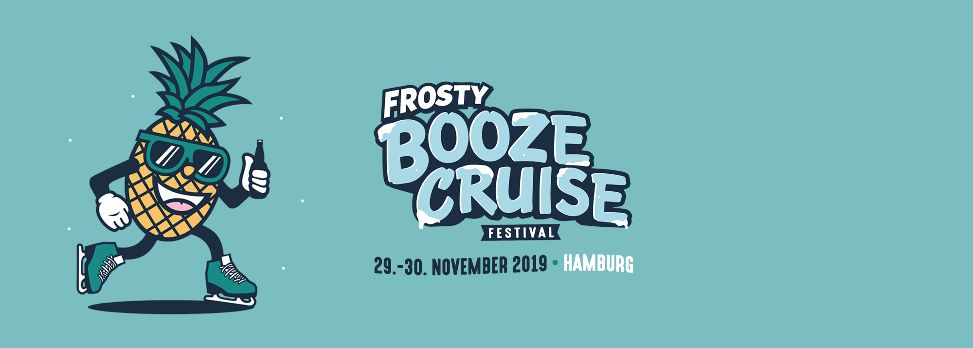 FROSTY BOOZE CRUISE  - Fr, 29.11.2019 - multiple venues